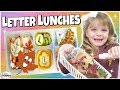 LETTER L LUNCH IDEAS 🍎 Letter Themed Lunches for KIDS bunches of lunches