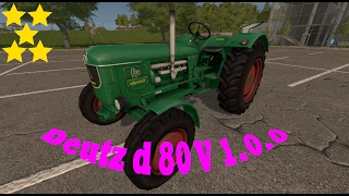 Link:https://www.modhoster.de/mods/deutz-d-80#description http://www.modhub.us/farming-simulator-2017-mods/deutz-d-80-v1-0-0/