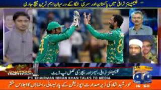 Geo Cricket Analysis on Mohammad Amir and Junaid Khan Bowling against SL