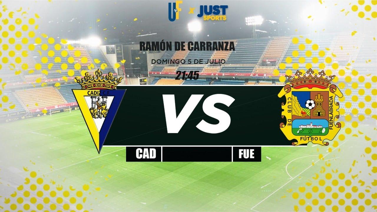 Cádiz vs Fuenlabrada (con imagen) EN DIRECTO