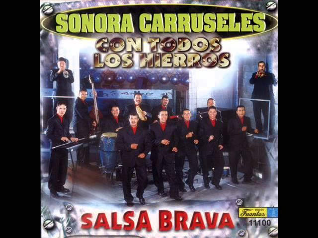 Sonora Carruseles 2000  Con Todos los Hierros - Salsa Brava (CD Completo 2000) Videos De Viajes