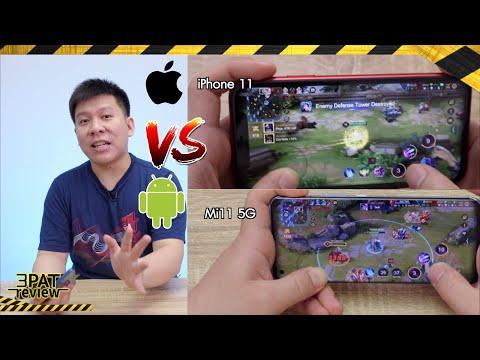 มือถือเล่นเกม 2021 iPhone VS Android ตัวท็อปๆ เลือกใครดี