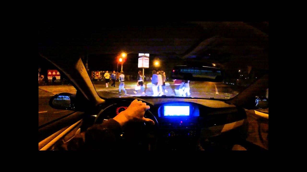 2014 BMW 335I >> BMW 335i night drive - YouTube