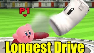Which Forward Smash Gets The Most Distance in Super Smash Bros Wii U