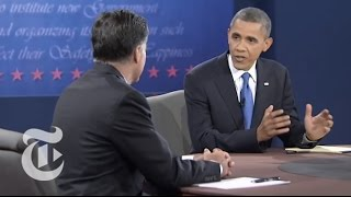 Election 2012 | Obama to Romney: Cold War Is Over - Third Presidential Debate | The New York Times