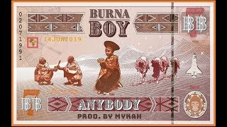 Burna Boy - Anybody Instrumental Reproduced By Mykah