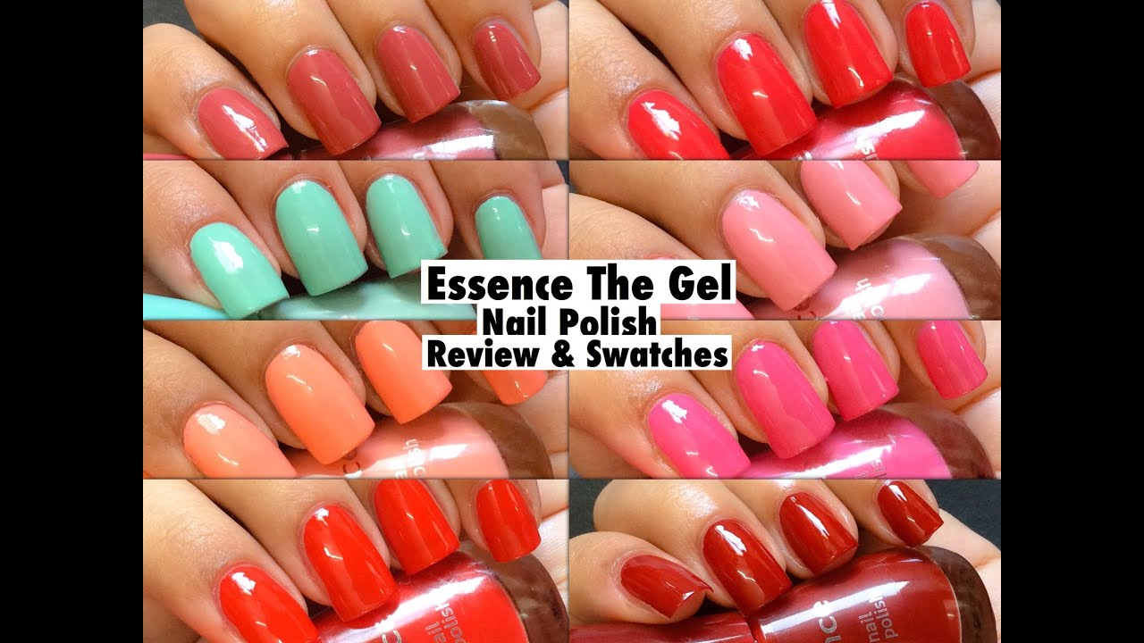 Essence The Gel Nail Polish Review & Swatches : Zeeme beauty ...