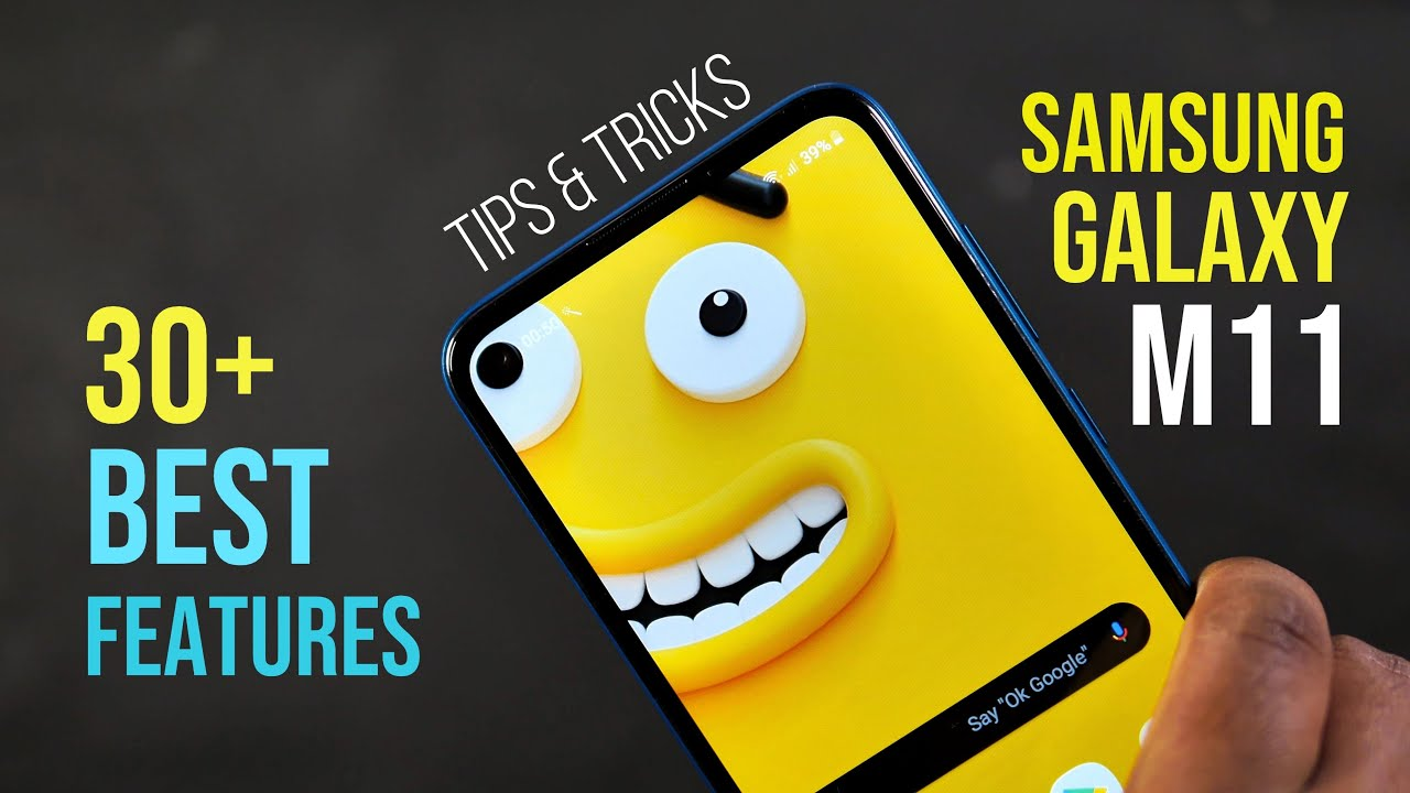 Samsung Galaxy M11 Tips And Tricks Top 30 Best Features Of Galaxy M11 Hindi India Youtube