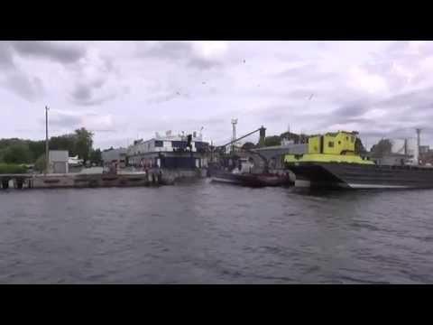 Parnu ship repair yard.port Parnu  Estonia