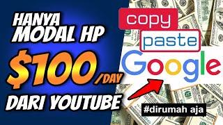 Dapat Uang $100 Tiap Hari dari YouTube Hanya Copy Paste Google Images