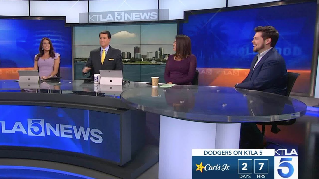 Blockbuster's Matt Schrader on KTLA News - Live Tuesday, May 28, 2019