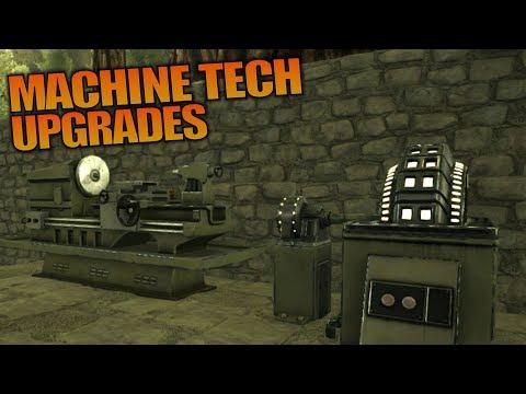 MACHINE TECH UPGRADES   ARK: Aberration   Let's Play ARK Aberration Gameplay   S01E09