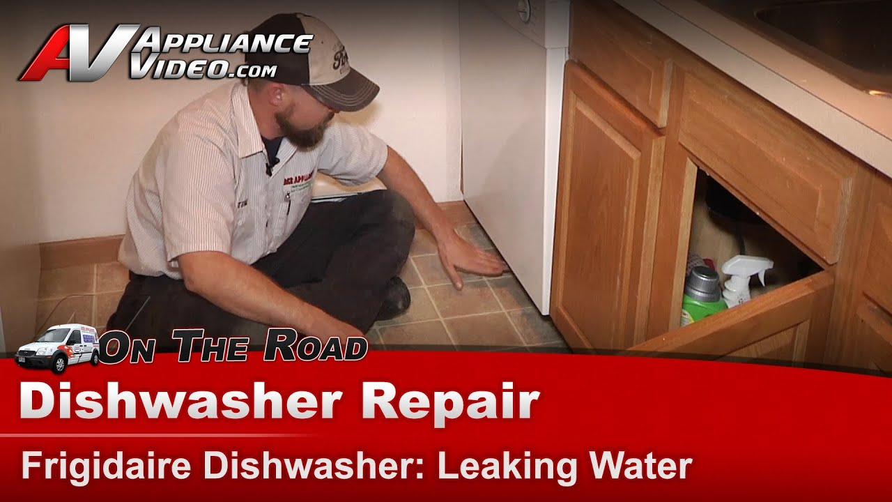 Frigidaire dishwasher repair leaking water fd8510lcs0 youtube frigidaire dishwasher repair leaking water fd8510lcs0 rubansaba