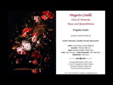 Corelli - Violin Sonata In A Major, Op.5 No.6