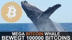 MEGA BITCOIN WHALE BEWEGT 100,000 BTC ($900 MIO USD)