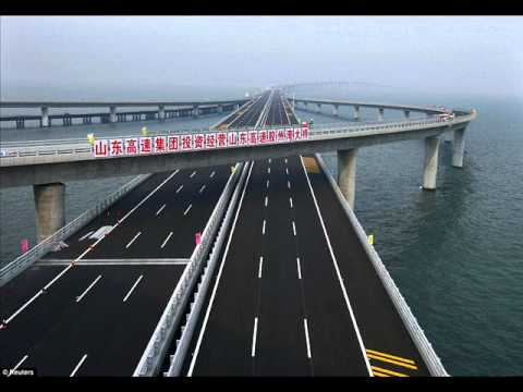 Longest sea bridge(China)