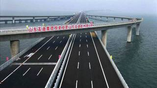 Longest sea bridge(China)
