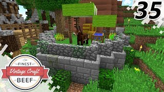 A Home For Tony! - MINECRAFT (VintageCraft Server) - EP35 (Minecraft Video)