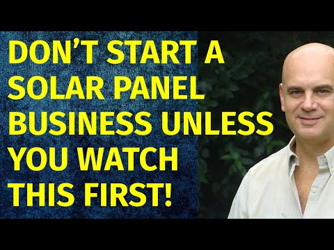 How To Start A Solar Panel Business | Including Free Solar Panel Business Plan Template