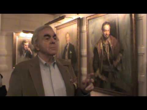 Everett Raymond Kinstler, a Tour of The Players Club - Part 5
