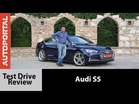 Audi S5 - Test Drive Review - Autoportal