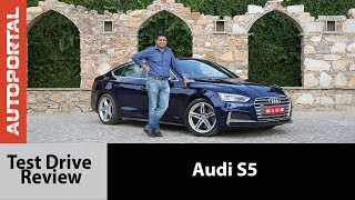 Audi S5 - Test Drive Review - Autoportal