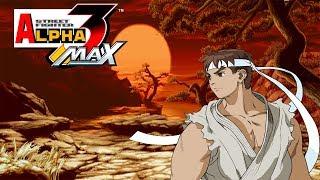 Street Fighter Alpha 3 MAX Ryu Playthrough