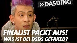 Wie viel ist bei DSDS gefaked? Ein Finalist redet Klartext! | DASDING