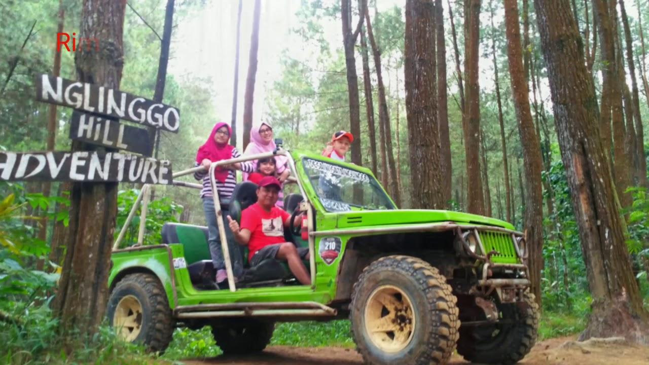 Paket Wisata Jogja, Off Road Merapi Lava Tour