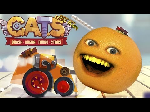 Annoying Orange Plays - C.A.T.S. (Crash Arena Turbo Stars)