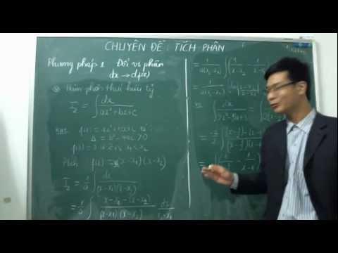 [ĐTN] Các phương pháp tính tích phân (phần 1)