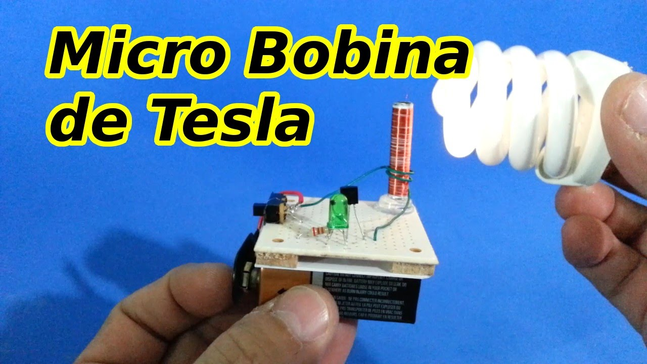 Circuito Bobina De Tesla : Micro bobina de tesla viyoutube