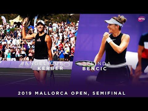 Angelique Kerber Vs. Belinda Bencic | 2019 Mallorca Open Semifinal | WTA Highlights