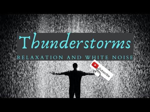 RAIN AND White Noise For SLEEP