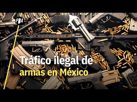 ¿Cómo llegan las armas al narco en México?