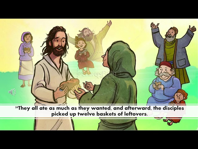Jesus feeds the 5000 video lesson