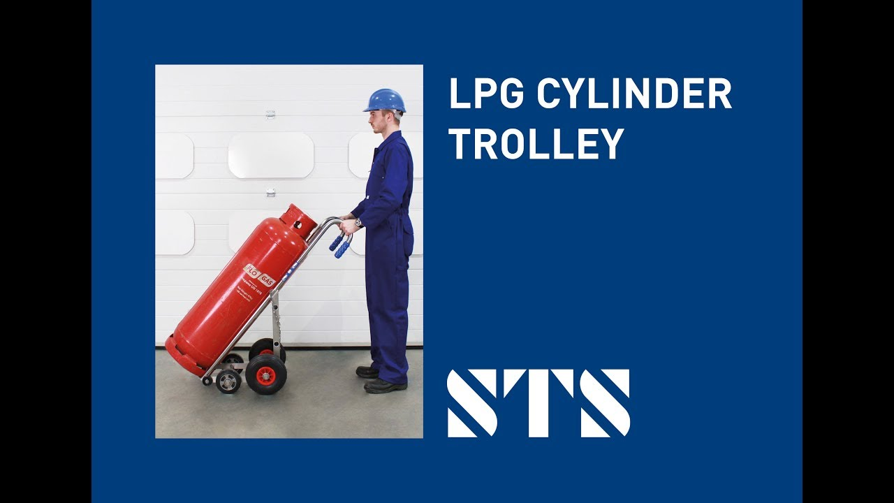 LPG Propane Gas Cylinder Trolley (Model: CTS03)