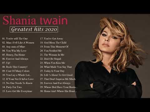 Download Top 20 Shania Twain Best Songs Playlist || Alicia Keys Greatest Hits 2020