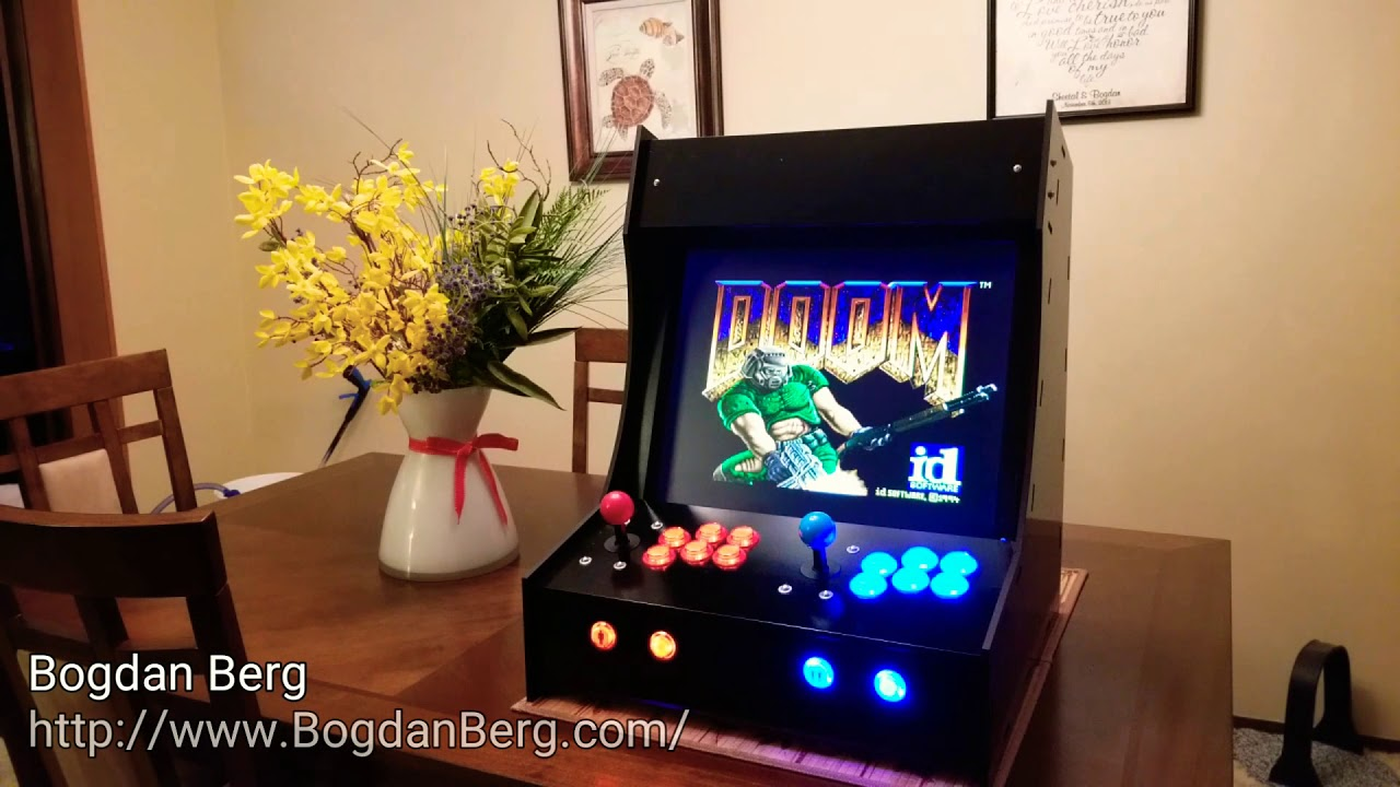 Bartop Arcade Cabinet Build Skips The Kit   Hackaday