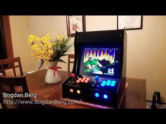 DIY Arcade Cabinet (bartop, 2 players)