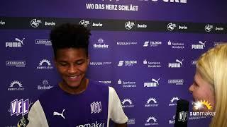 VfL-TV | Felix Agu nach Sieg gegen Lautern