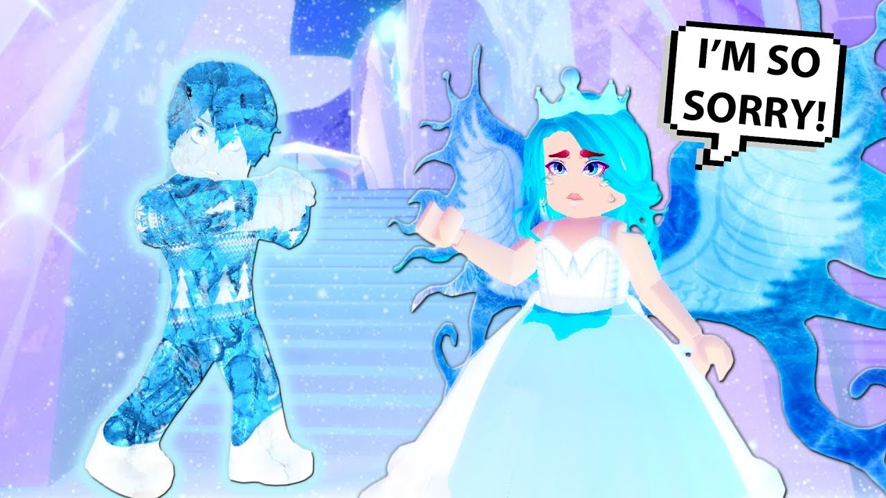 Everything She Touches Turns To Ice Roblox Royale High Roblox