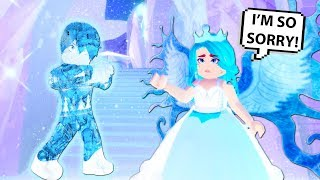 Everything She Touches Turns To Ice...Roblox Royale High (Roblox Story)