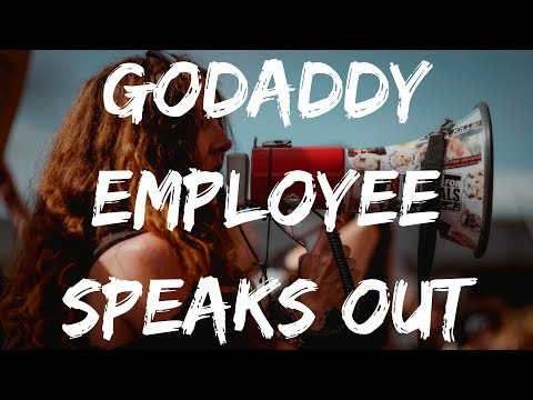GODADDY REVIEW 👨 EX EMPLOYEE SPEAKS THE TRUTH 🛑