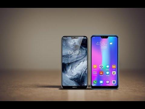 Nokia X6 vs Huawei Honor 10 (2018)