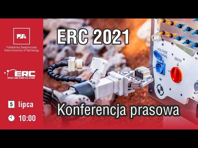 ERC 2021 - konferencja prasowa