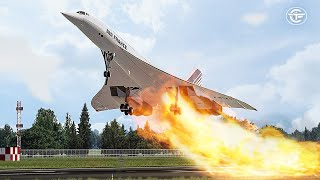 How the Crash of Flight 4590 Destroyed Concorde's Magic | Up in Flames