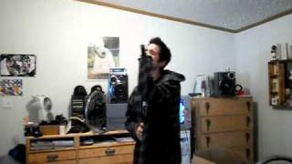 Staind Right Here vocal cover