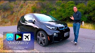 2017 BMW i3 BEV 33 KWh / 94 Ah BIG BATTERY with Range Extender TECH REVIEW (1 of 2)