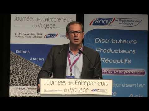 Les nouveaux concepts d'agences de voyages connectées - JEV 2015 - Marseille